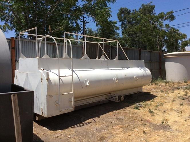 Estanque algibe para combustible acero carbono for Estanque 10000 litros