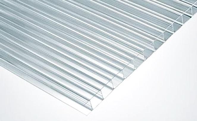 Plancha policarbonato alveolar color transparente 6mm - Plancha policarbonato transparente ...