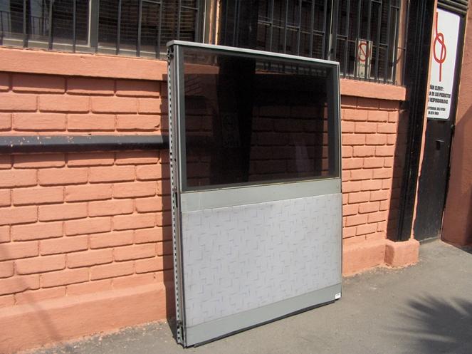 Panel separador alto x ancho usado for Muebles de oficina usados