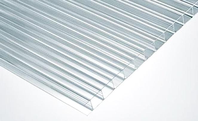 Plancha policarbonato alveolar color transparente 4mm - Planchas de policarbonato precios ...