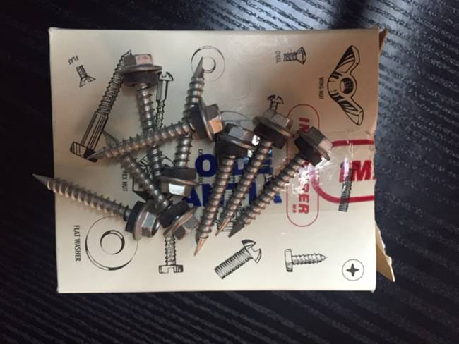 Caja 100 tornillos 10 12 x 1 1 2 para madera - Planchas yeso carton ...