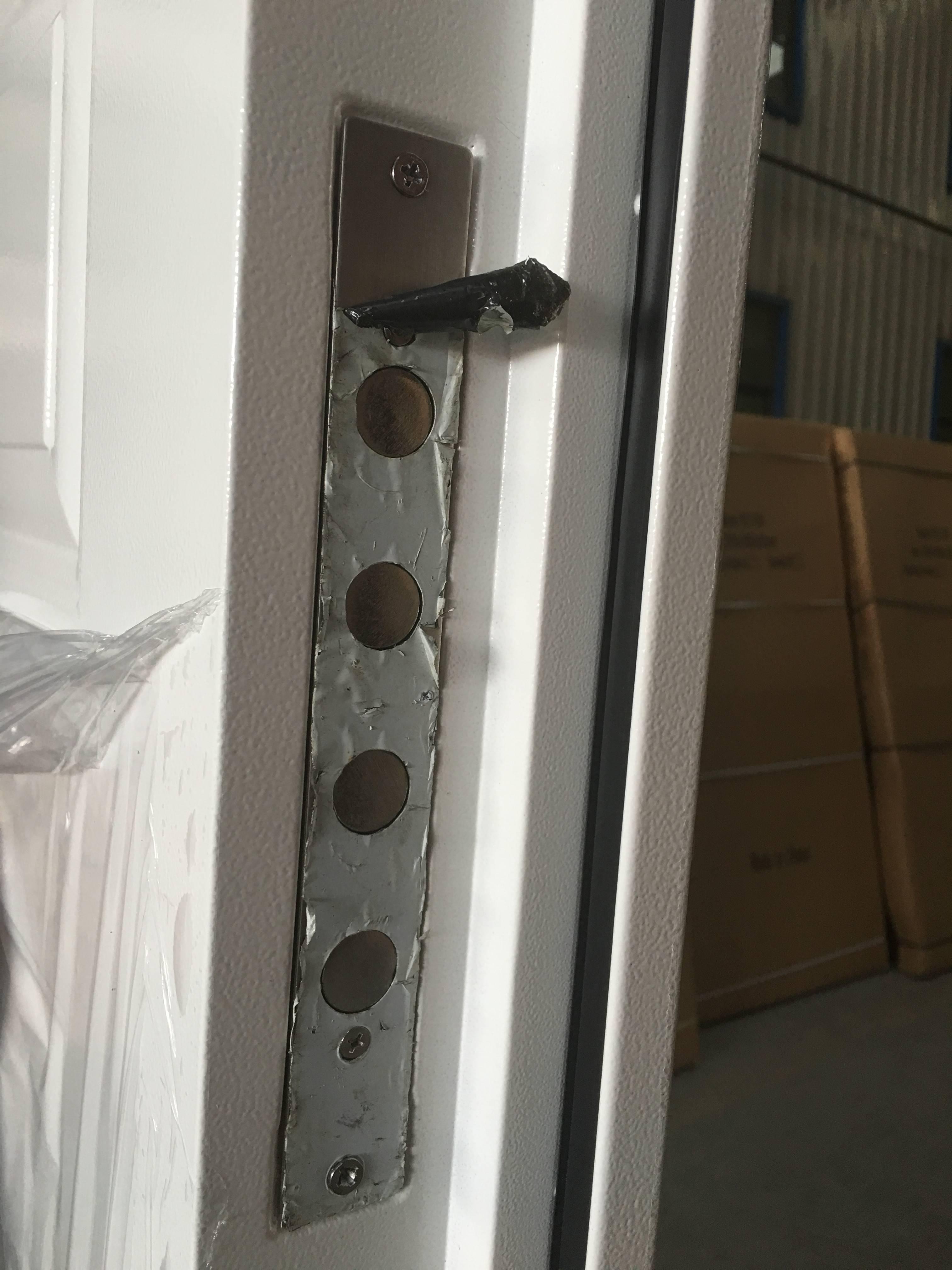 Puerta de Seguridad Acero Con Marco 2050*860*90mm / Blanco / Crown ...