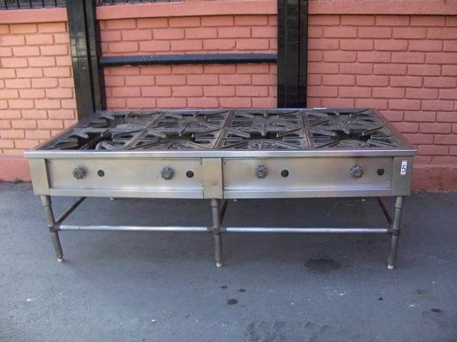 Cocina Industrial a Gas 8 Platos   Marca Biggi   Usada   5 – ChileRemates.cl 4576221459f2