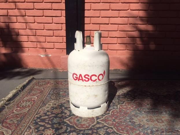 Cilindro de gas 11 kg usado for Cilindro de gas 15 kilos