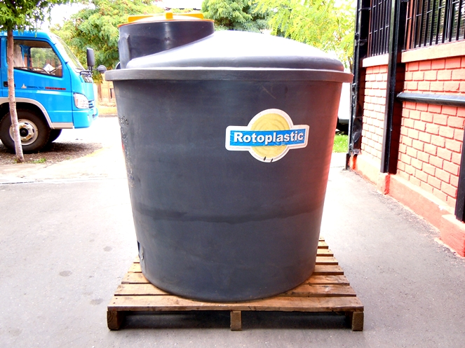 Estanque vertical litros aprox usado for Estanque de 1000 litros