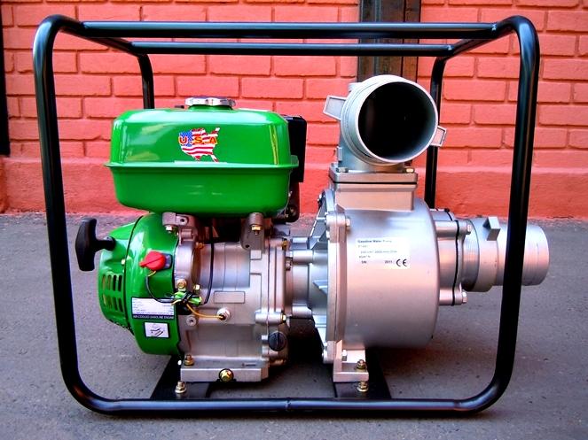 Motobomba para agua 4 gwp 100 motor gasolina for Motobombas de gasolina