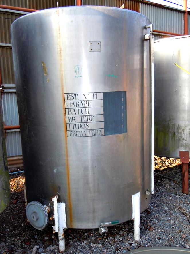 Estanque acero inox litros cerrado con agitador for Estanque de plastico precio