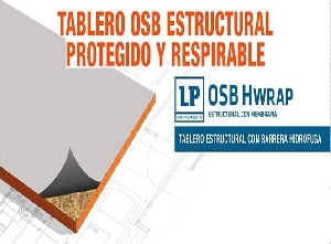 Placa OSB / Hwrap / 11.1 mm / 1.22 x 2.44 m