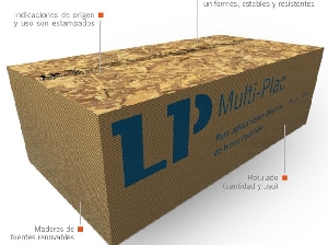 Placa OSB / Multi Plac / 8 mm / 1.22 x 2.44 m