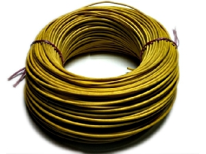 Cable Eléctrico 1,5 mm Amarillo / N14 / Rollo 100 mts