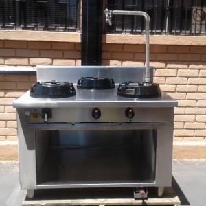 Cocina Industrial   Acero Inoxidable   Casta SRL   Italiana   3 Platos    Usado 1b24960fb8f2